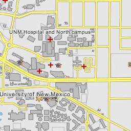 UNM Hospital and North campus - Albuquerque, New Mexico